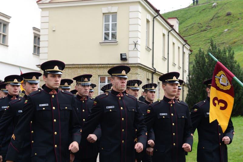 Jurar-da academia militar lituana fotografia de stock royalty free
