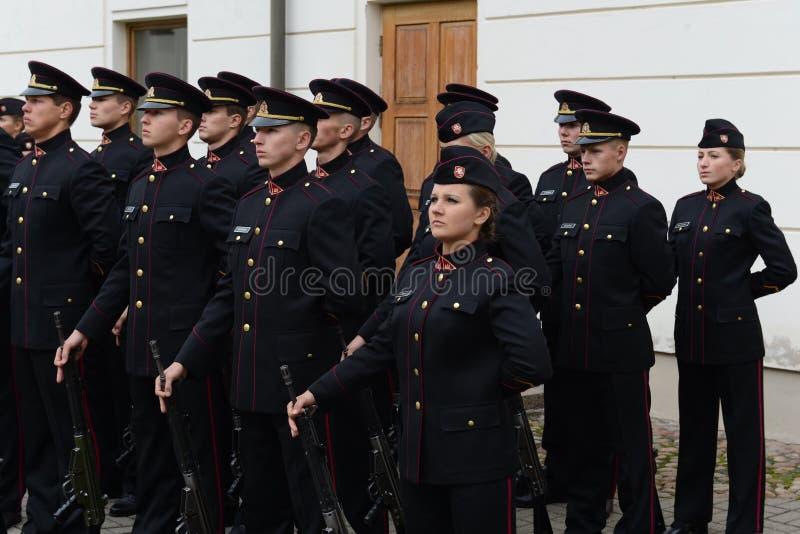 Jurar-da academia militar lituana fotos de stock royalty free