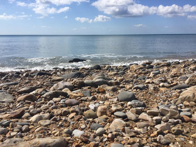 Jurassic coast, beach royalty free stock image