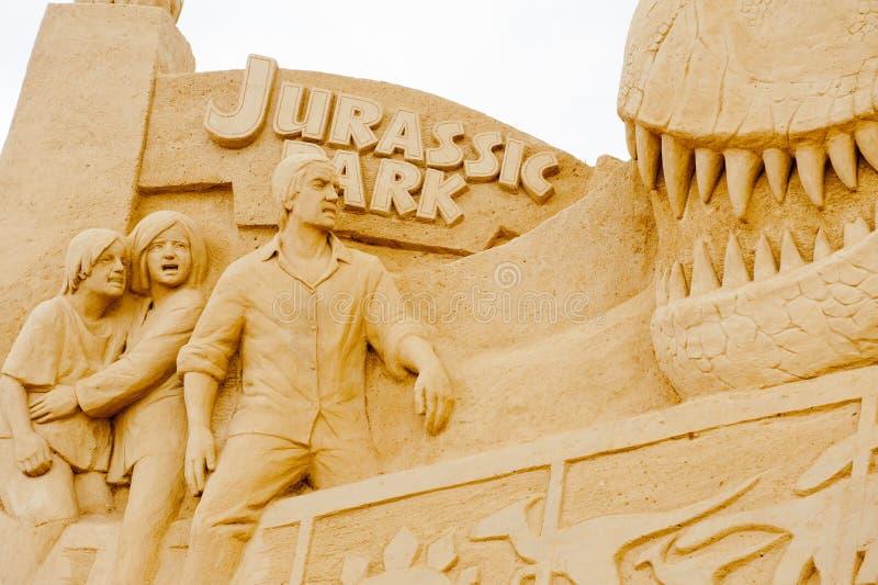 Jurassic Park fotografia stock