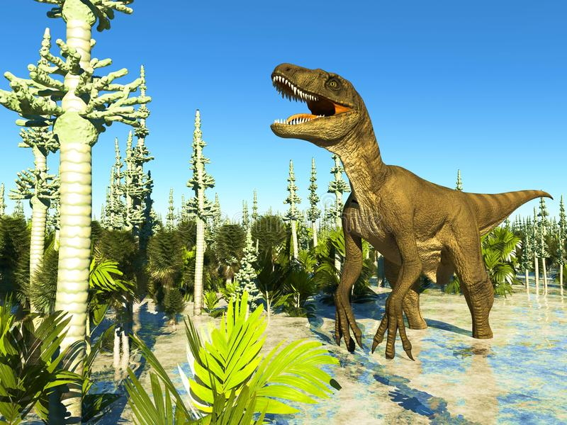 Jurassic Park royalty illustrazione gratis
