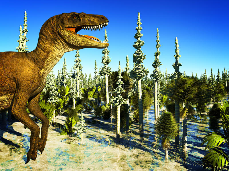 Jurassic Park illustration libre de droits