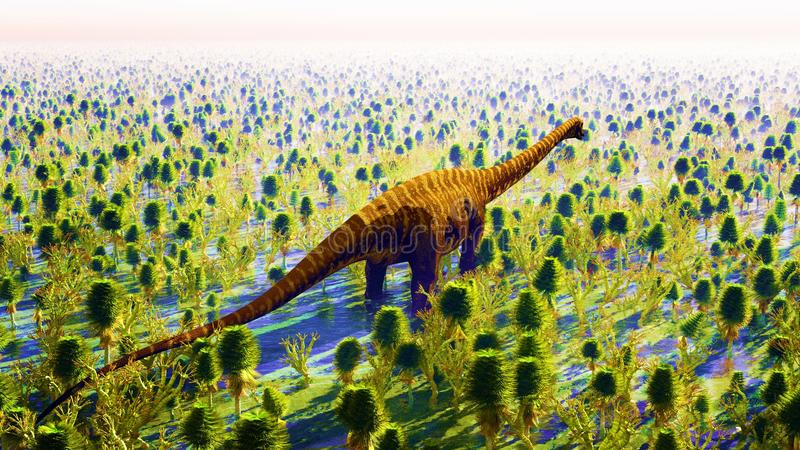 Jurassic park stock image