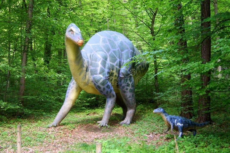 Jurassic Park - dinosaurów potwory zdjęcia royalty free