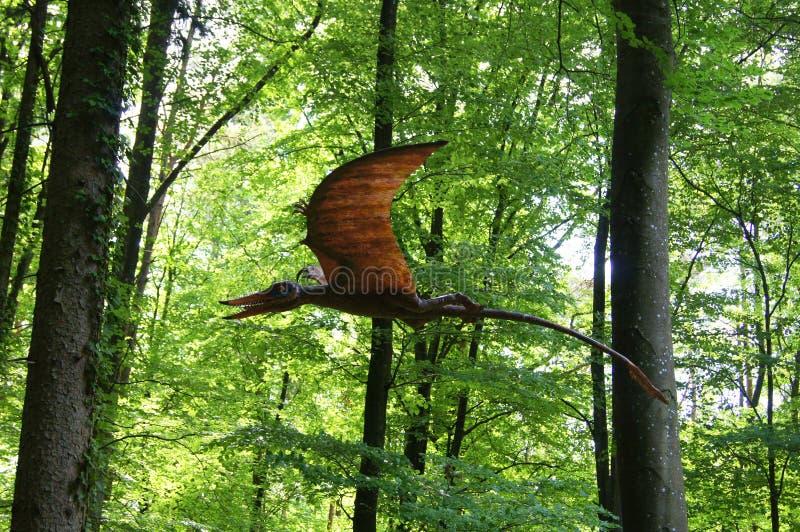 Jurassic Park - komarnica dinosaura potwory obraz royalty free