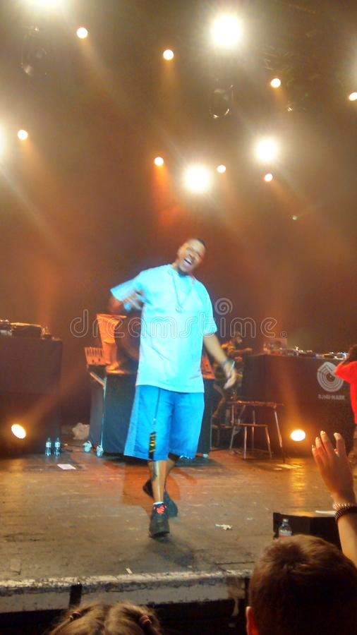 Jurassic5 rap skool J5 wolności stary hip hop fotografia royalty free