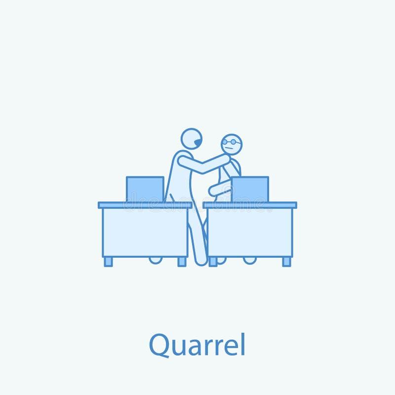 jurez avec une discrimination raciale icône du collègue 2 Illustration simple d'élément coloré Conception de symbole d'ensemble d illustration de vecteur