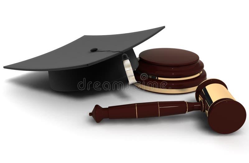 Jurisprudentie royalty-vrije illustratie