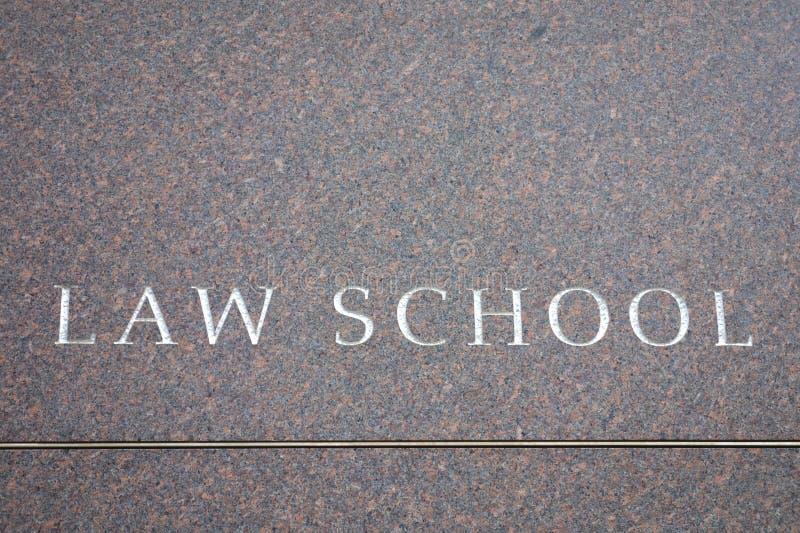 Juristische Fakultät lizenzfreie stockfotografie