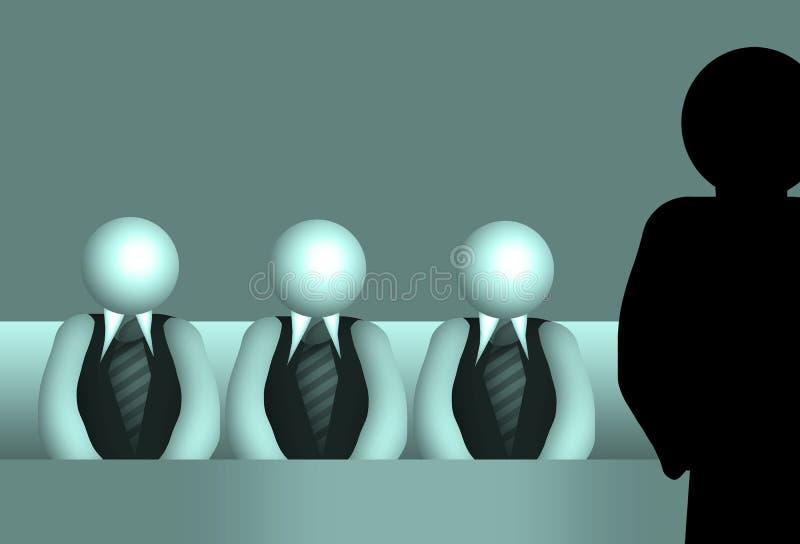 Jury illustration de vecteur