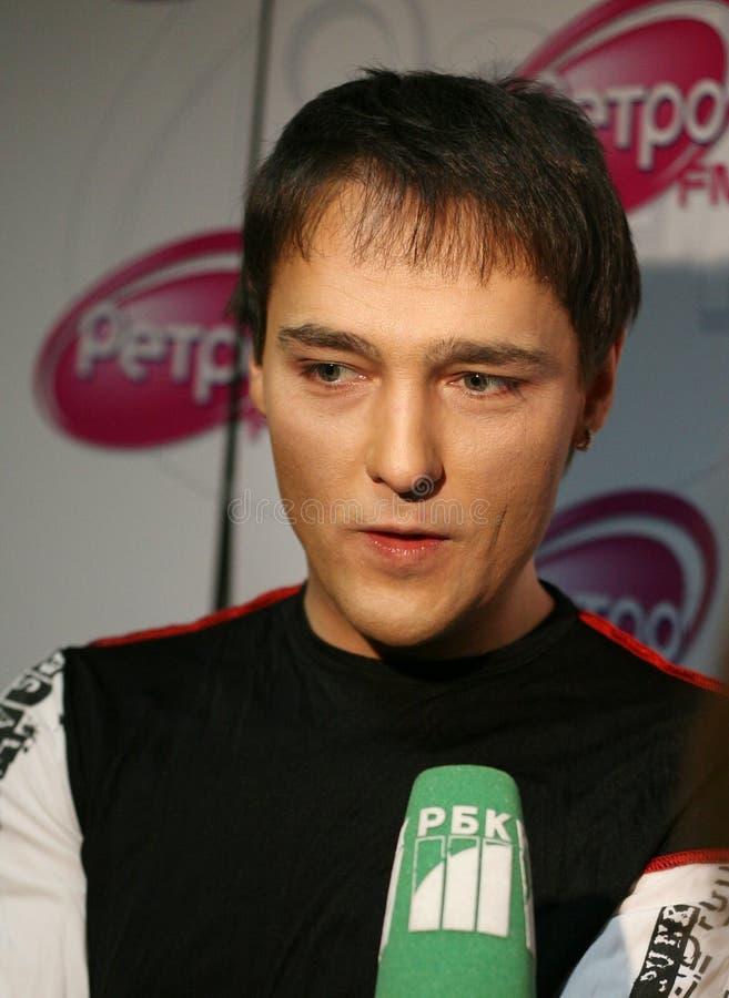 Jury russe Shatunov de chanteur photos stock