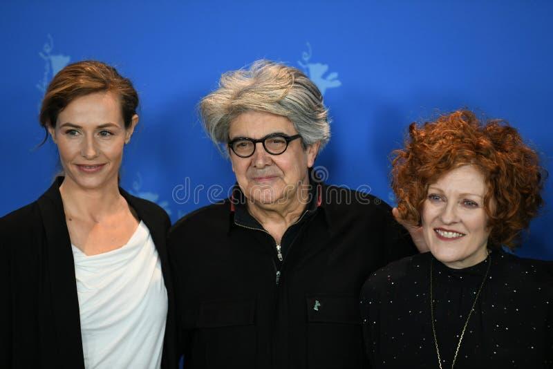 Juryleden van de 68ste uitgave van het Berlinale-Filmfestival 2018 stock afbeeldingen
