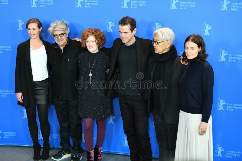 Juryleden van de 68ste uitgave van het Berlinale-Filmfestival stock foto's