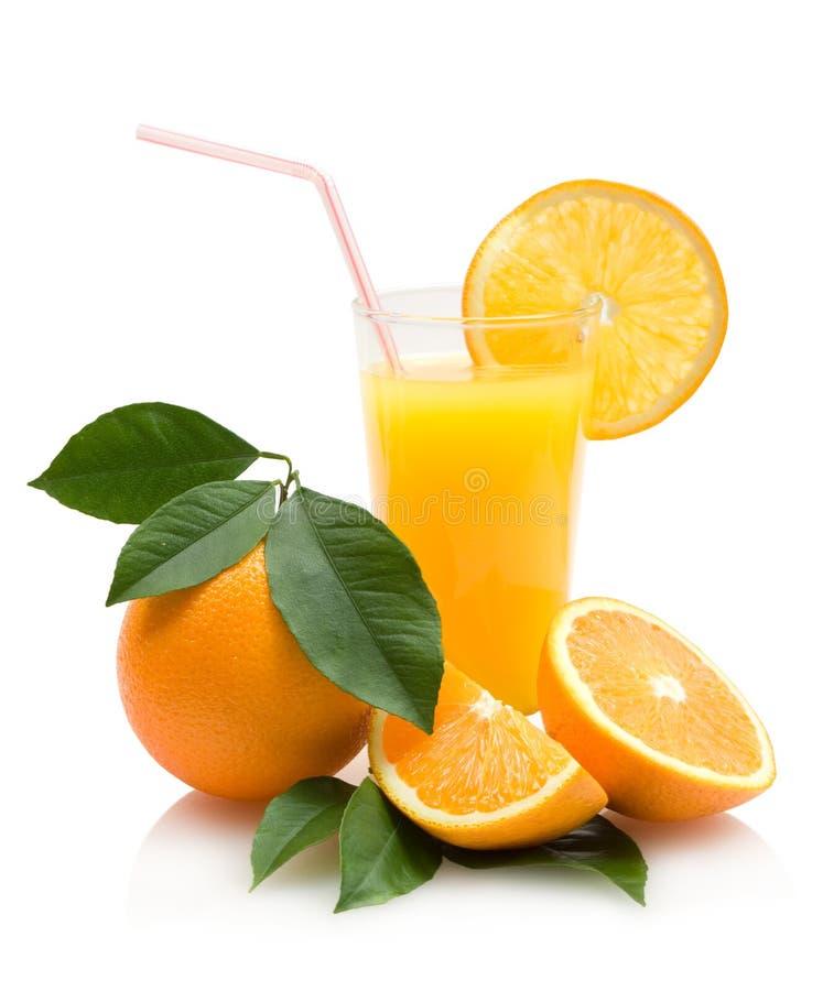 Jus d'orange royalty-vrije stock fotografie