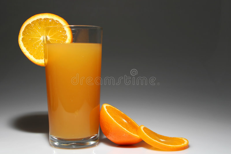 Jus d'orange photographie stock libre de droits