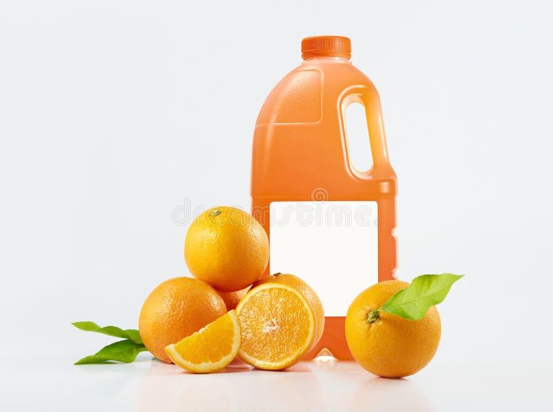 Jus d'orange stock afbeelding