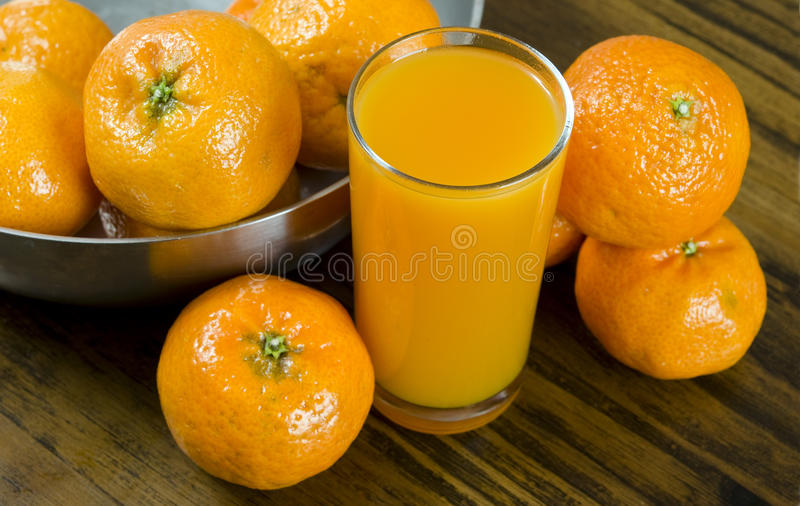 Jus d'orange royalty-vrije stock foto