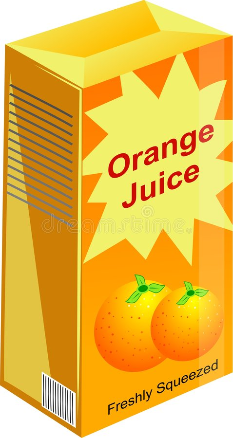 Jus d'orange royalty-vrije illustratie