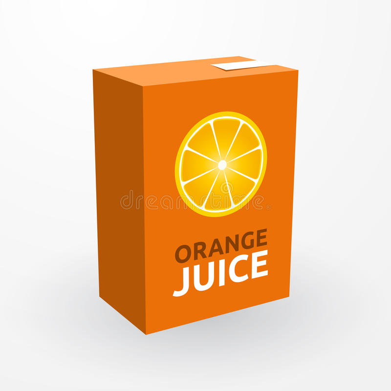 Jus d'orange illustration libre de droits