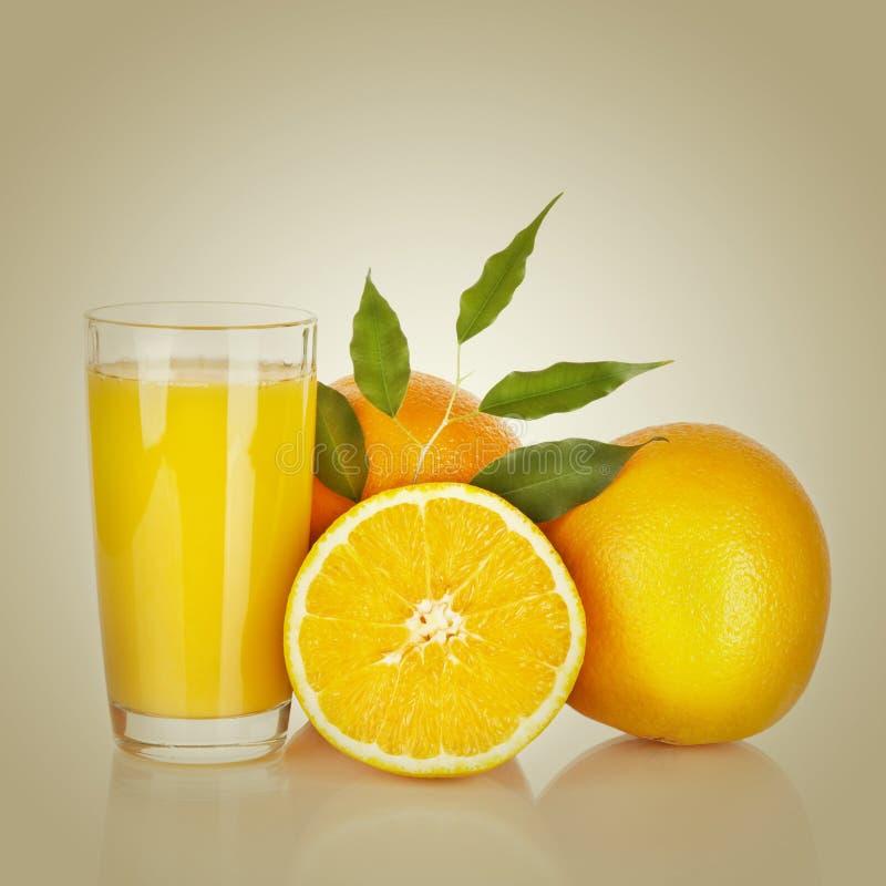 Jus d'orange image libre de droits