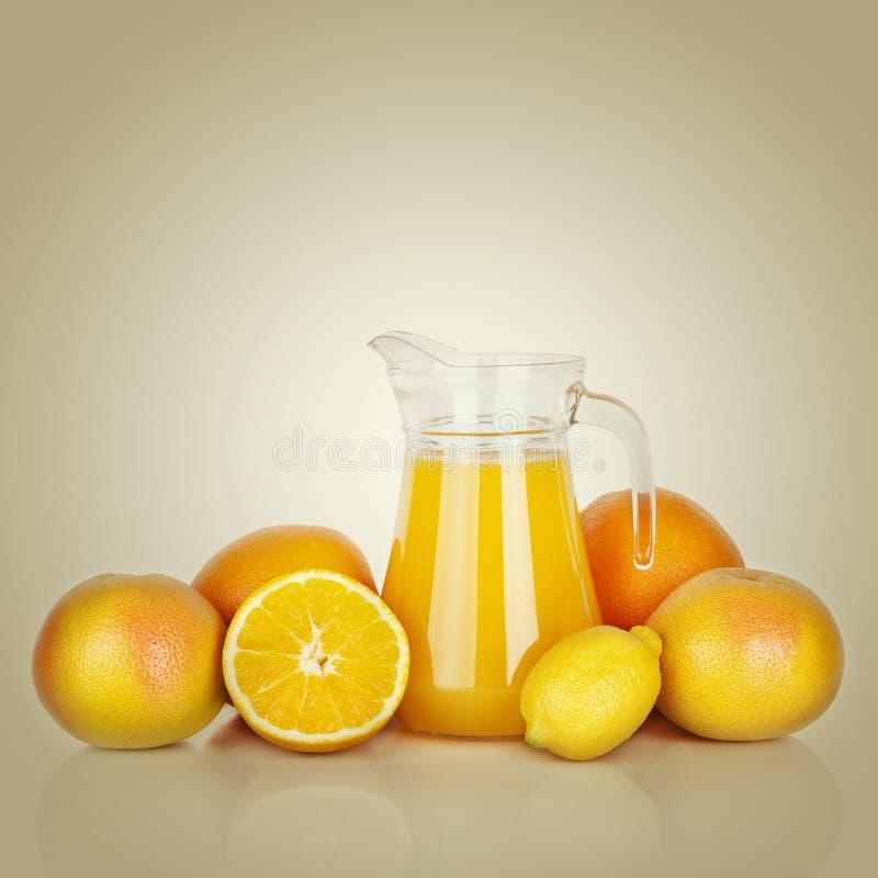 Jus d'orange images stock