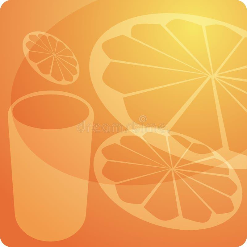 Jus d'orange illustration libre de droits