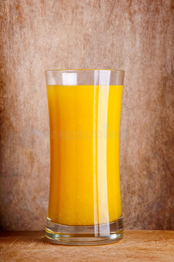 Jus d'orange frais photo stock