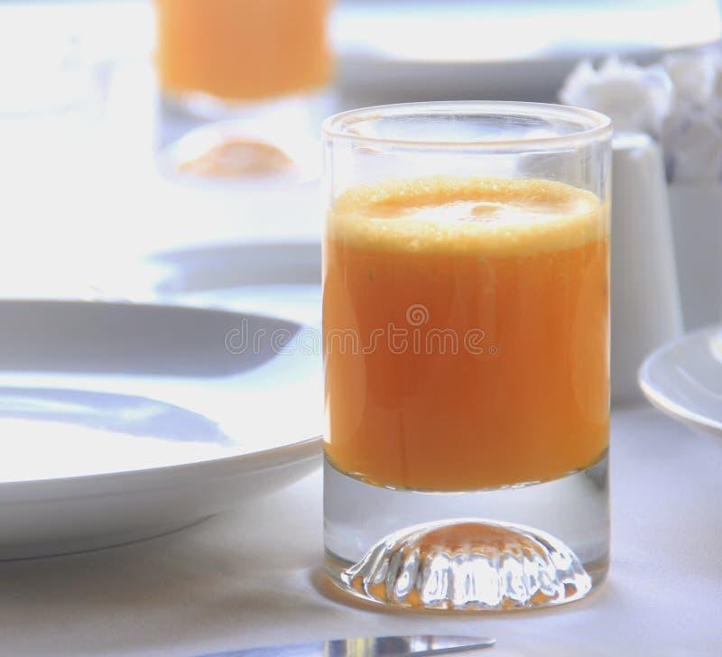 Jus d'orange frais photographie stock