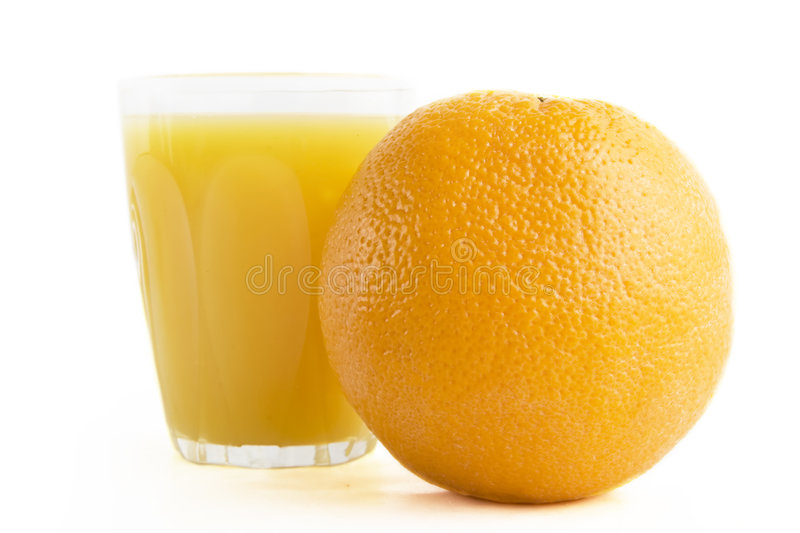 Jus d'orange frais photo libre de droits