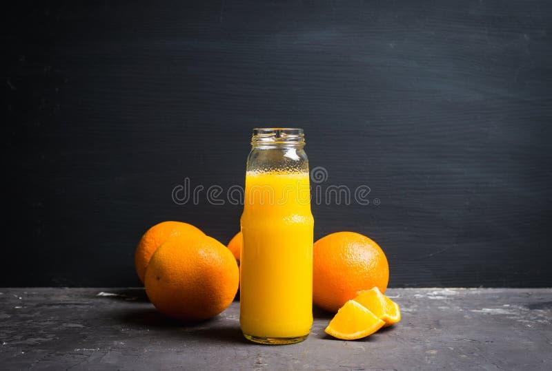 Jus d'orange frais Foyer sélectif photos libres de droits