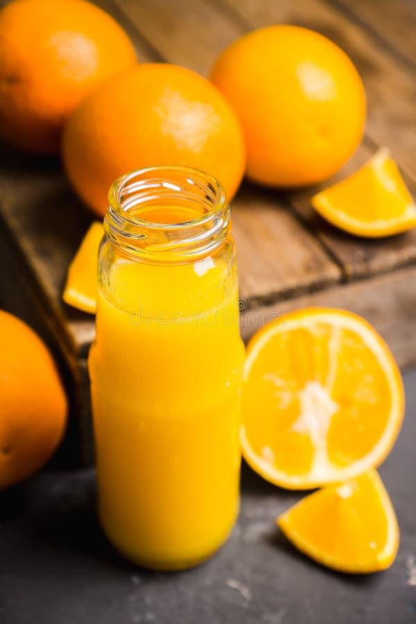 Jus d'orange frais Foyer sélectif image libre de droits