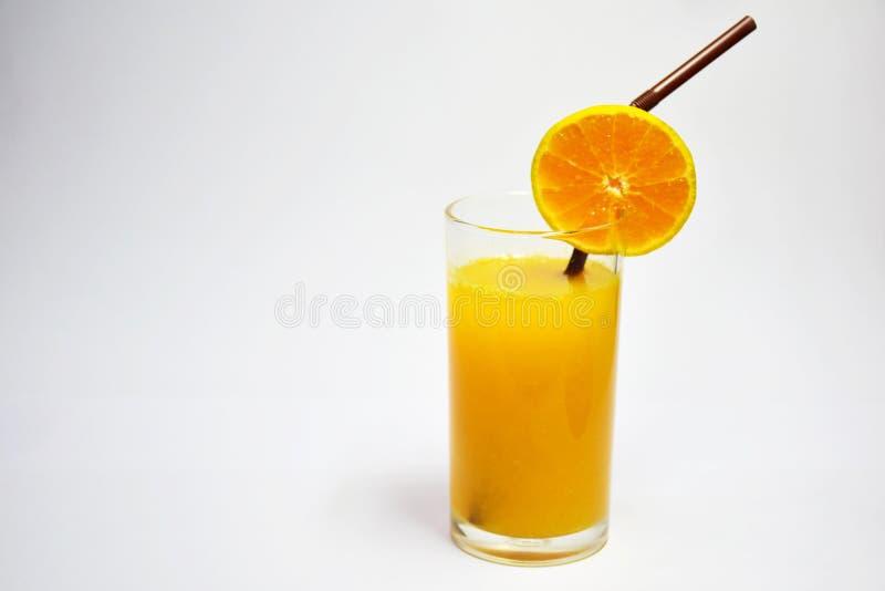 Jus d'orange, 100% Vruchtensap, Voordelig aan het Lichaam, de Drank om te voeden en de Gezondheidszorg stock foto's