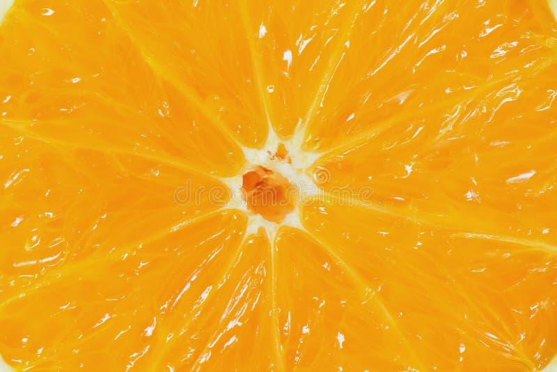 Jus d'orangeachtergrond en geweven, Close-updwarsdoorsnede Oran royalty-vrije stock foto's