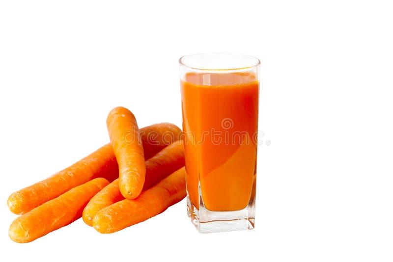 Jus de carotte images libres de droits
