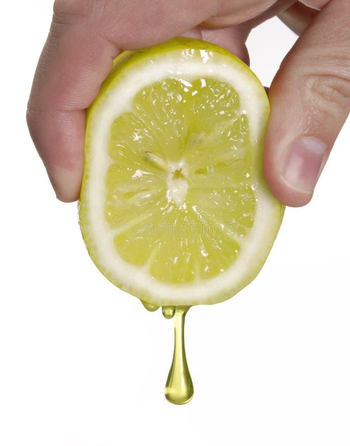 Jus de citron pur. photo libre de droits