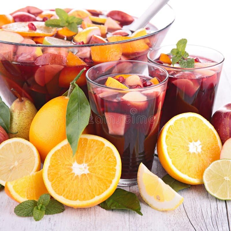 Jus de fruit, cocktail photographie stock libre de droits