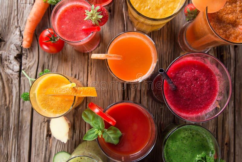 Jus de fruit frais images libres de droits