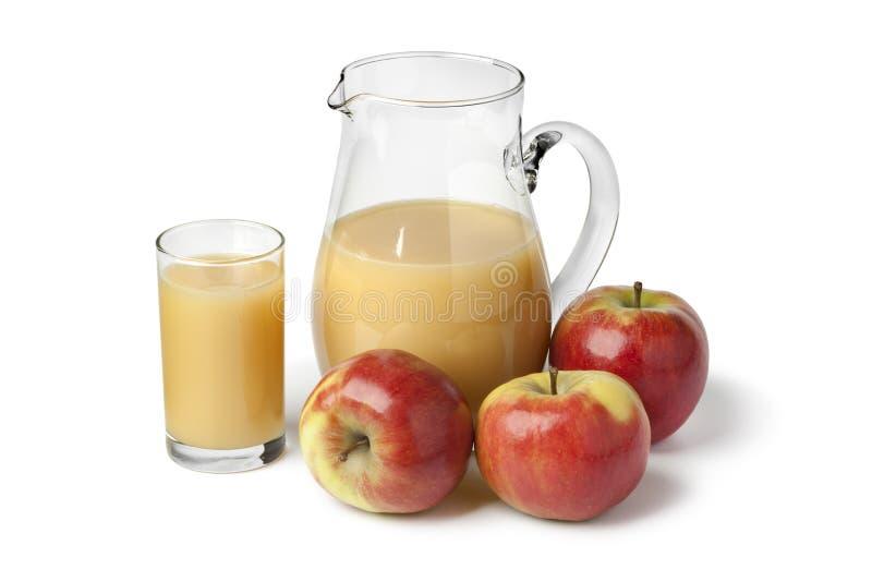 Jus de pomme frais image libre de droits
