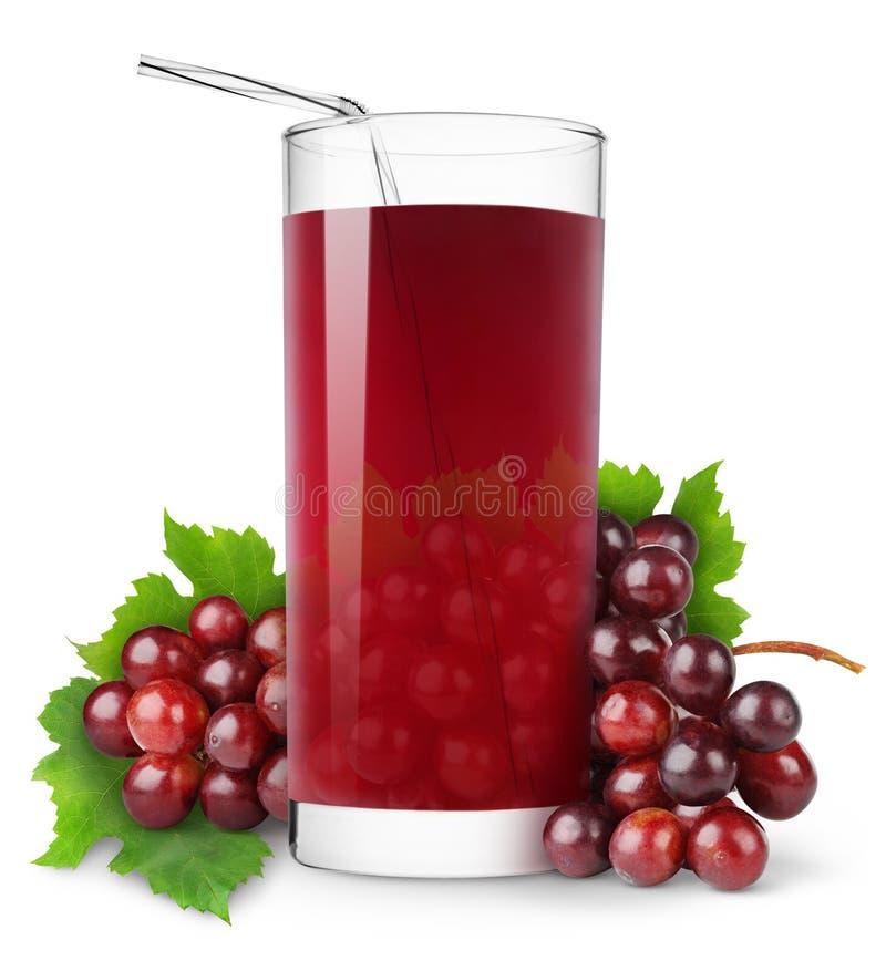 jus de raisins photo stock