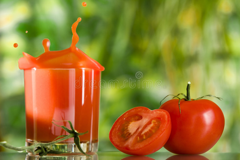 Jus rouge image stock