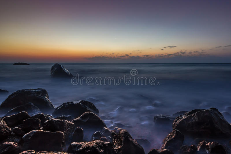 Just above sea level royalty free stock photos