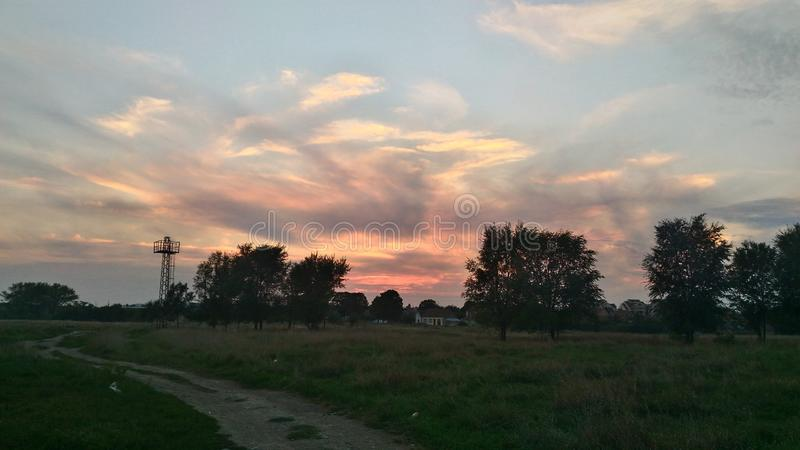 Just another picture of the sky. Random picture to remind us how beautiful sky and clouds can be royalty free stock photo