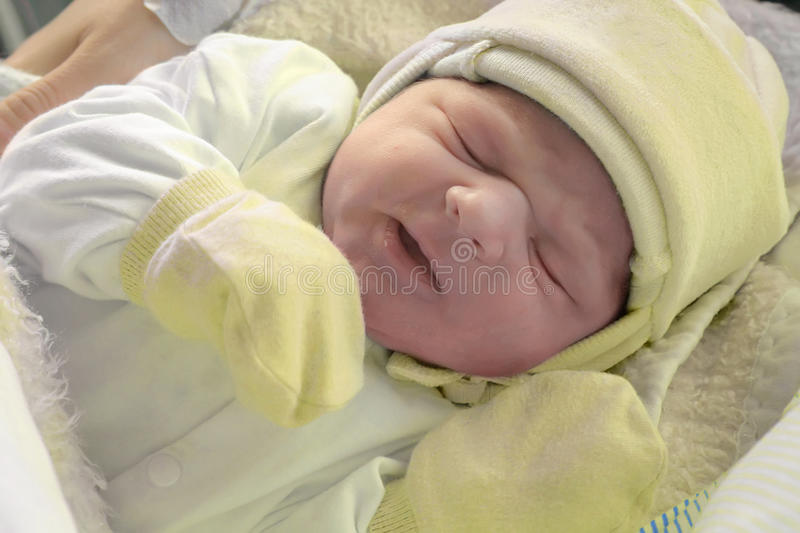 Just after childbirth royalty free stock photography