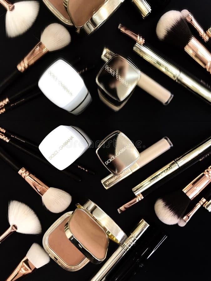 Just Dolce&Gabbana cosmetics royalty free stock image