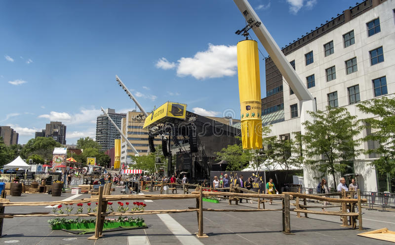 Just for laughs festival stock image