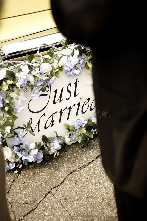 Download Just Married Bumper Stock Images - Image: 8713124