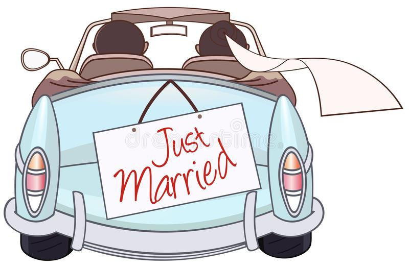 Download Just married stock vector. Image of congratulation, engagement - 32377822