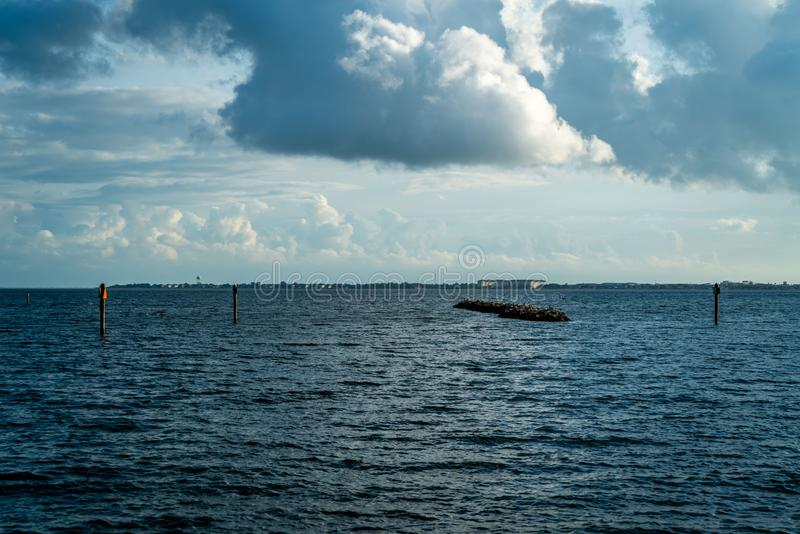 Just Some of the Beauty. Just some of the magnificent beauty you can see from Ballast Point Park in Tampa Florida royalty free stock image