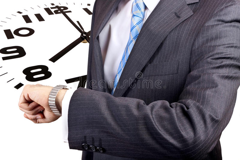 Just in time stock image