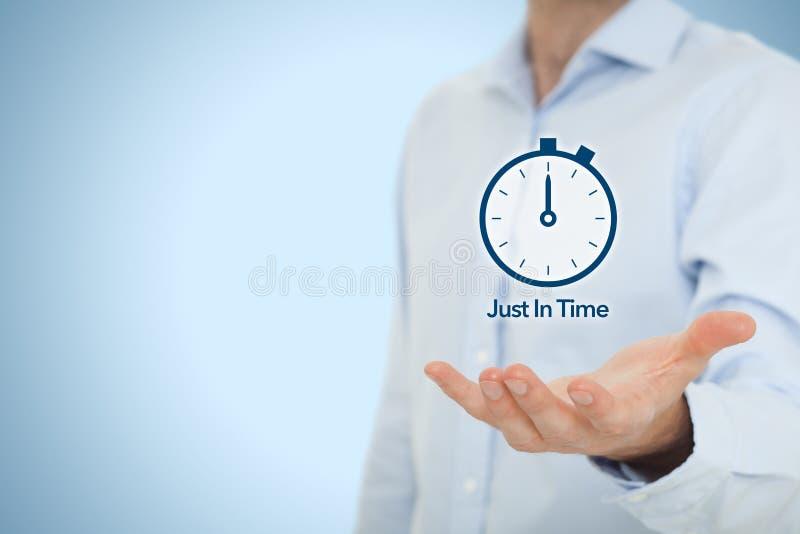 Just-in-time-JIT lizenzfreies stockfoto